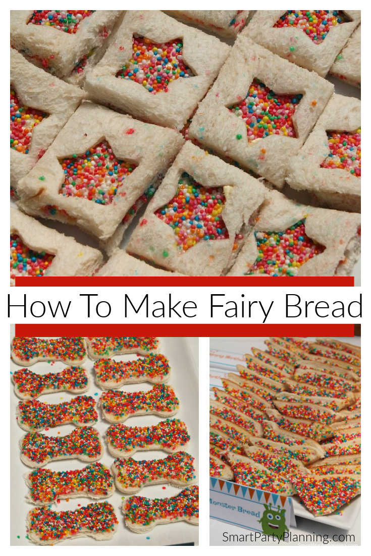 How to easily make fairy bread