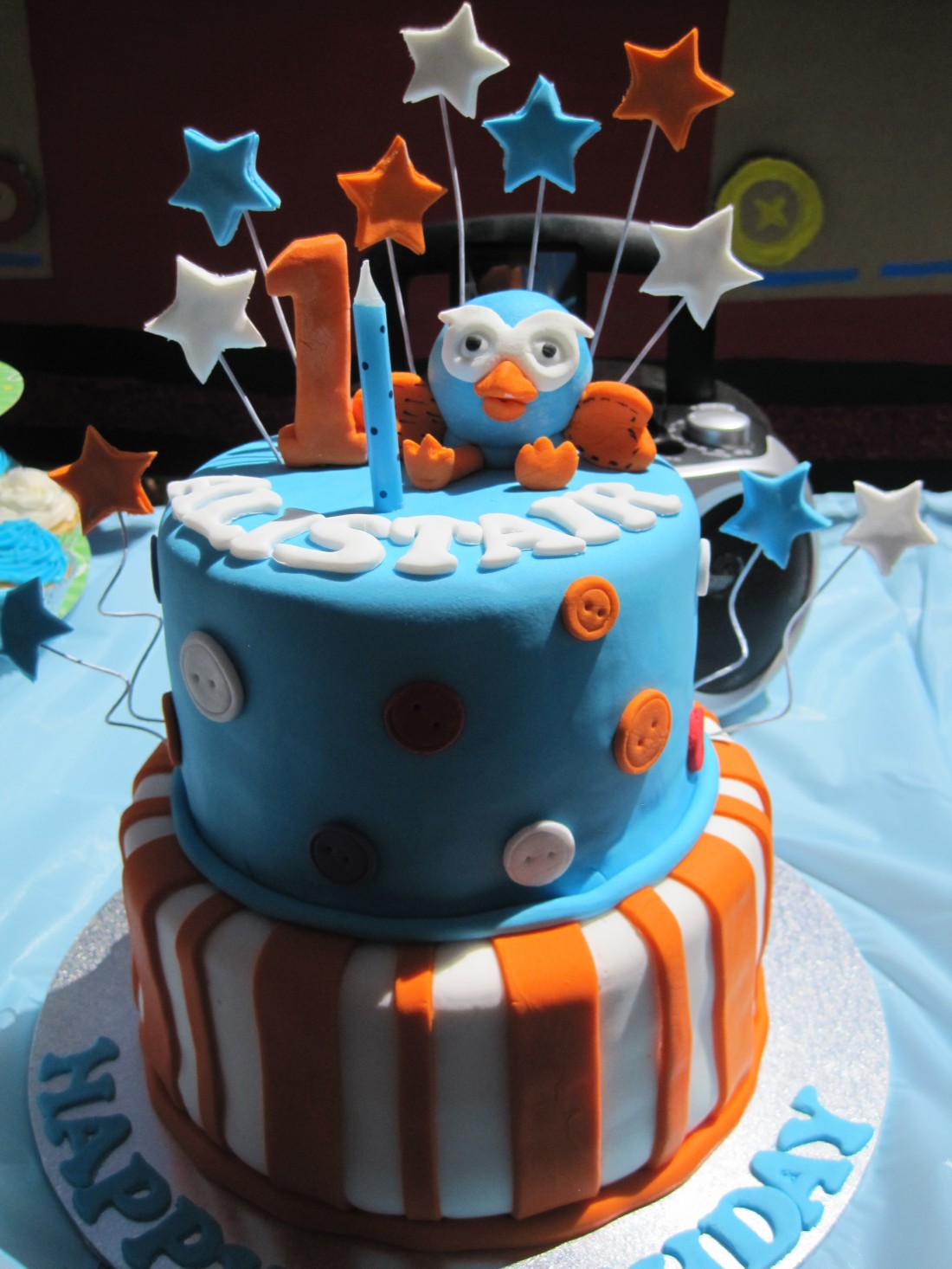 Giggle And Hoot Themed 1st Birthday Party