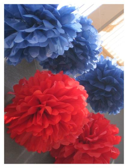 Easy Tissue Paper Pom Pom Tutorial For The Best Party Decor