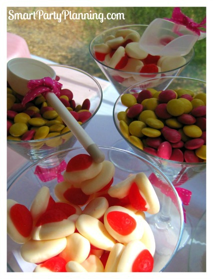 Pink and Yellow Lollies