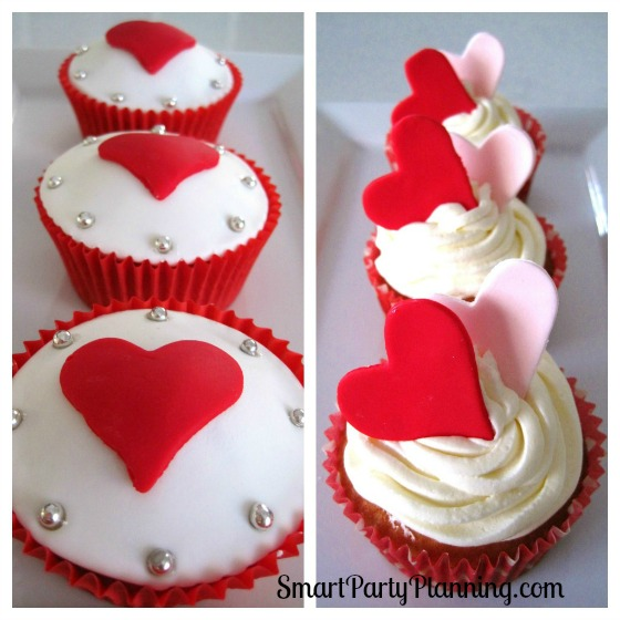Valentine S Day Cake Decorations : Valentines Cupcakes