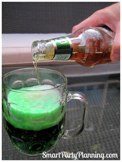 Making green beer is easy for your St Patrick's Day Celebrations. Go a little quirky and go green! Join in on the fun.