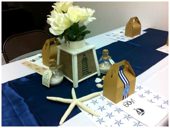 Nautical Theme Baby Shower Party Favours