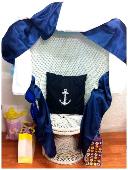 Nautical Theme Baby Shower Party Decoration