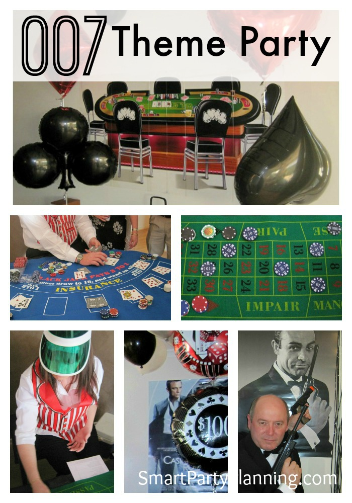 The Best Ever James Bond Theme Party