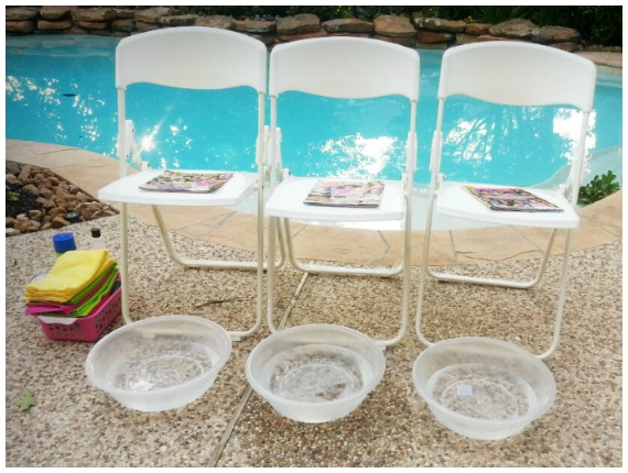 Chairs and foot spas