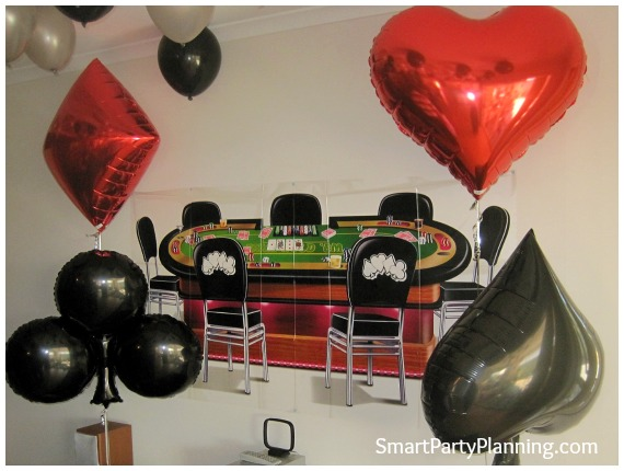 James bond theme party for 007 room decor