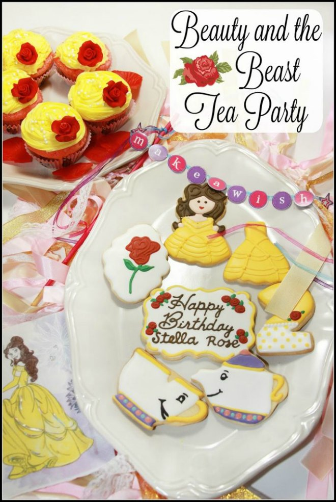 Beauty and The Beast Tea Party
