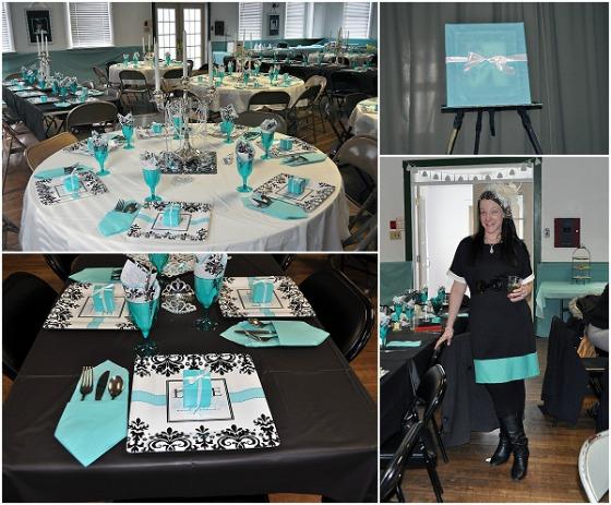 Tiffany Themed Party Ideas
