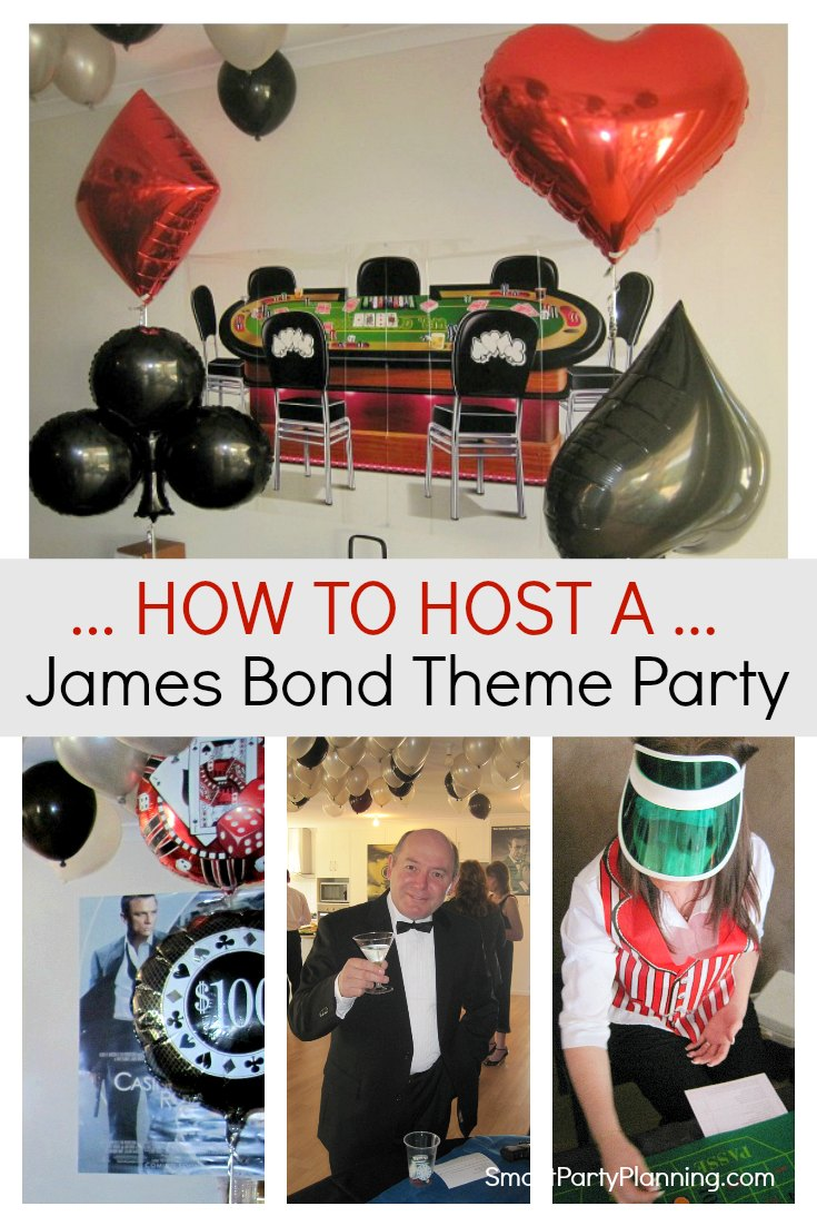 How to host a James Bond Theme Party
