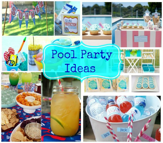 Pool party decoration ideas adults