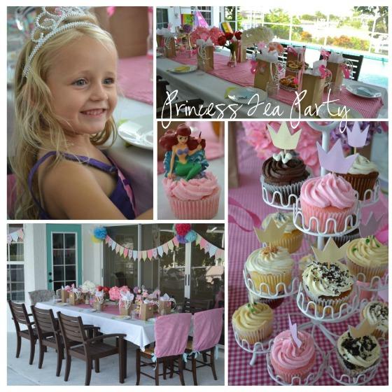 Princess Party Ideas: Princess Tea Party