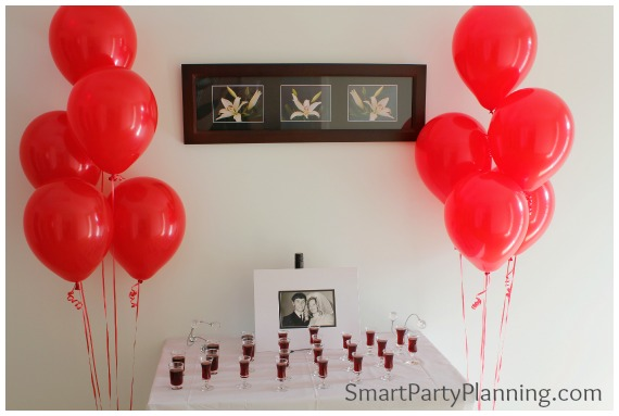 40th Wedding Anniversary Party Ideas