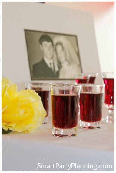 40th Wedding Anniversary Sherry