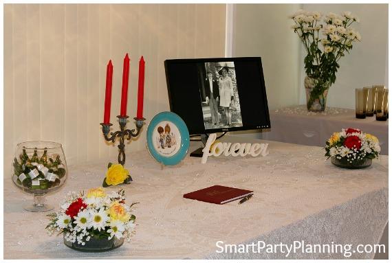 70's Theme Party 40th Wedding Anniversary Ideas