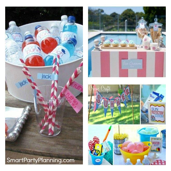 Fun Pool Party Ideas