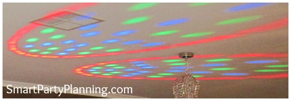 70's Theme Party Disco Lights