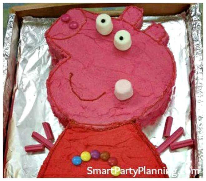 Peppa Pig Cake Head