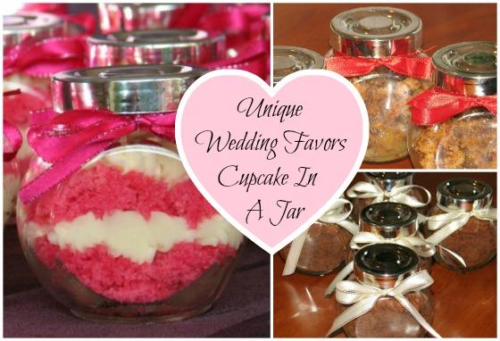 Unusual Wedding Gifts Australia: Unique Wedding Favors Cupcake In A Jar