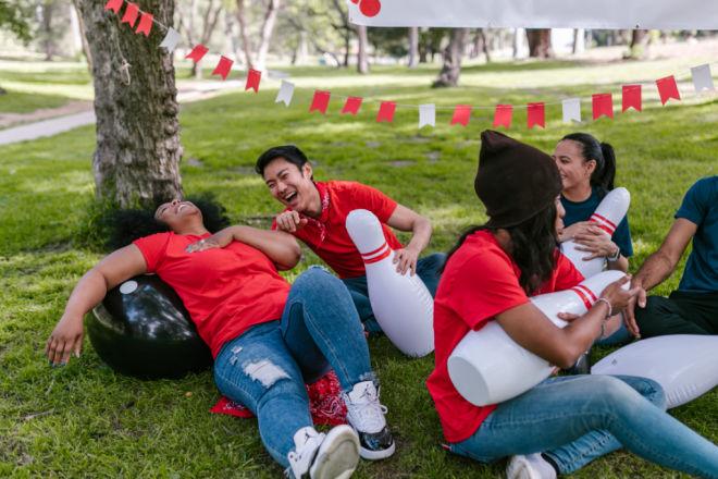 graduation outdoor party games