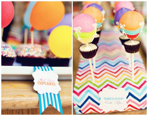 Rainbow party ideas cupcakes and cakepops