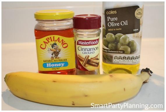 Fried Bananas Recipe Ingredients
