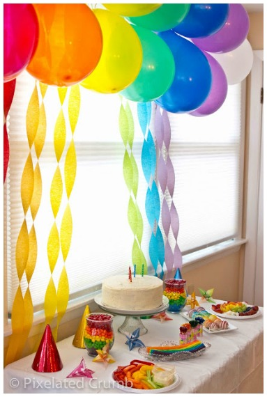 Simple rainbow party