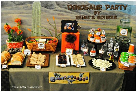 Simple Dinosaur Party