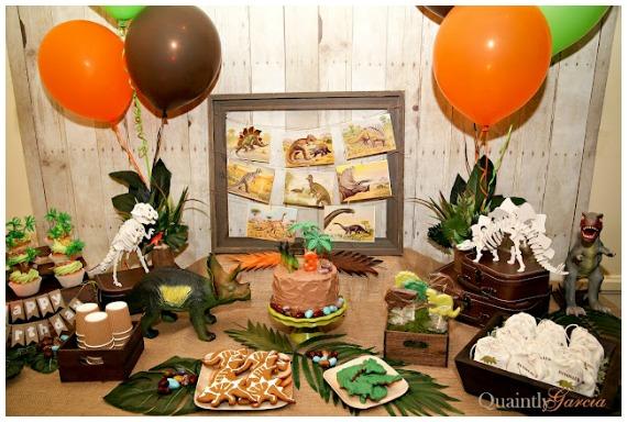Rugged Dinosaur Party
