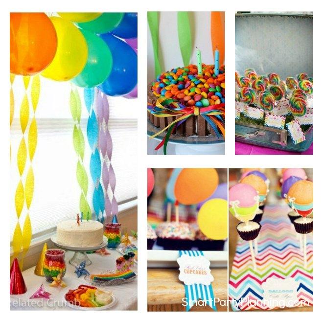 Easy Rainbow Party Ideas