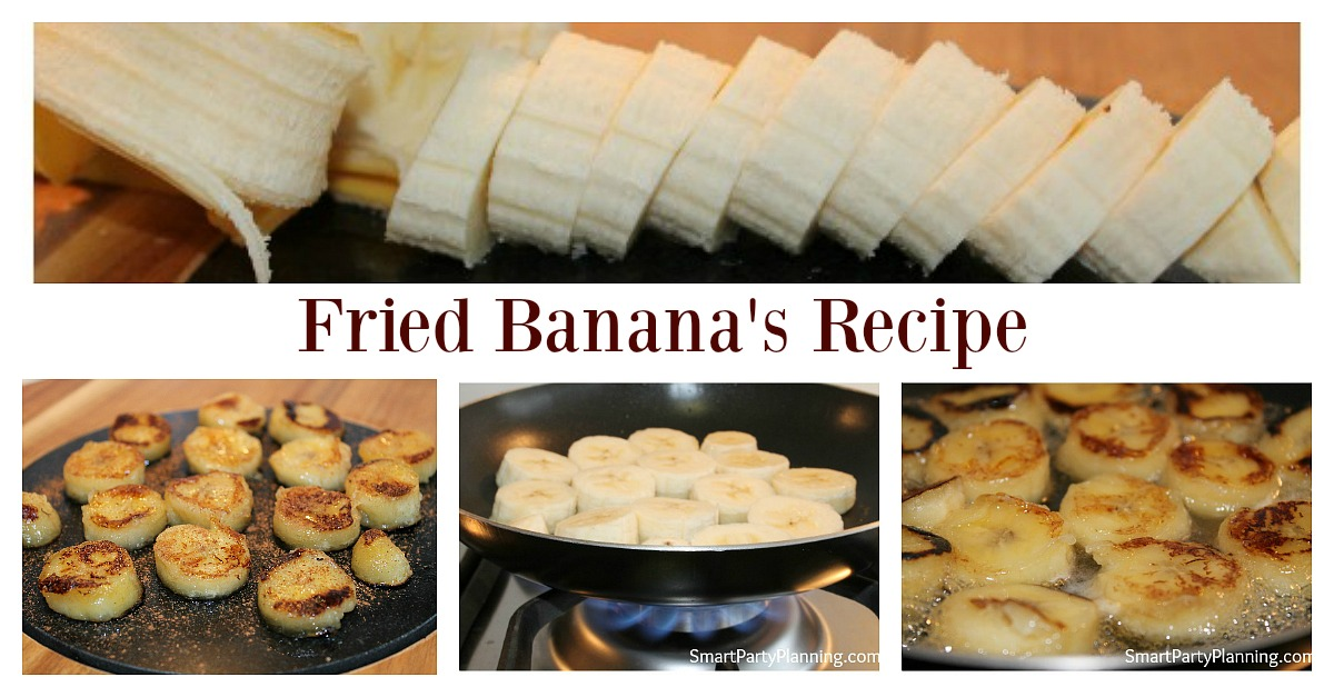 Banana's are a super food and great for eating as a healthy dessert.  Jazz them up a bit, and fry them with a touch of honey and cinnamon.  They are a delicious treat that you can eat as a guilt free dessert.  It's an easy recipe and they can be whipped up in minutes!