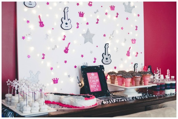 Rock Star Party Ideas