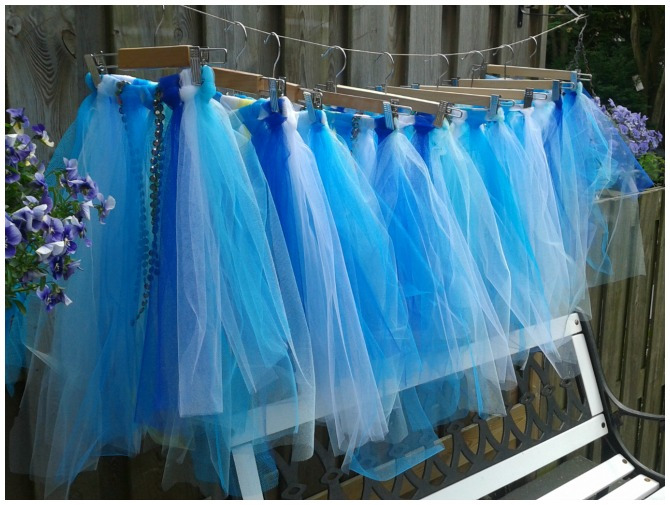 Mermaid tutus
