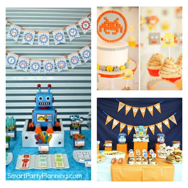 Budget friendly Robot Party Ideas