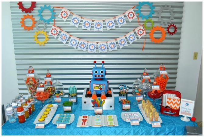 Fun Robot Party