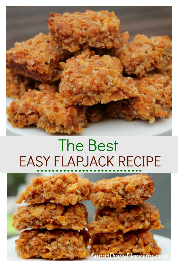Easy British Flapjack Recipe