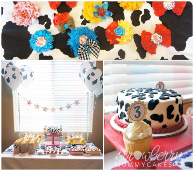 Toy Story inspired cowgirl birthday party