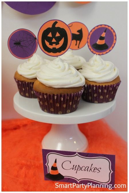 Halloween Cupcake Toppers