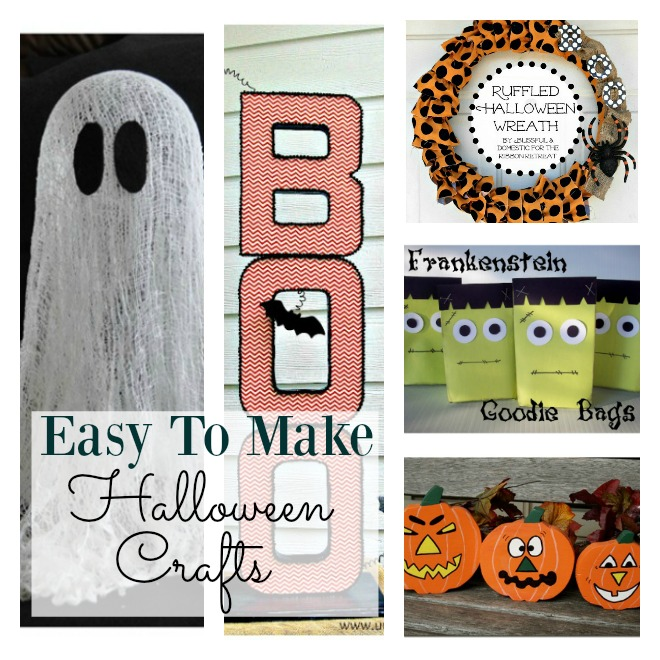 Are you in need of some Halloween crafts that the kids can make? This selection of crafts are easy and fun to make and the kids will have a blast. Whether you have preschool or older kids, you can help them make these.