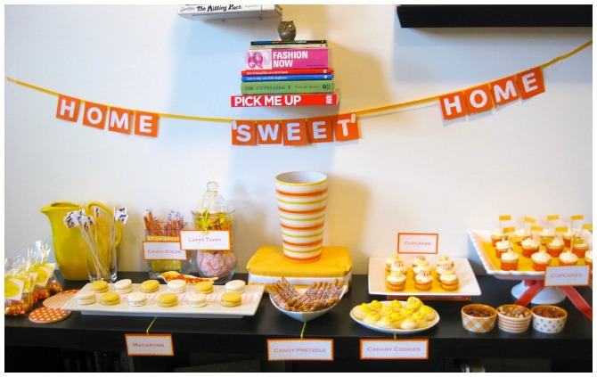 Super sweet housewarming party