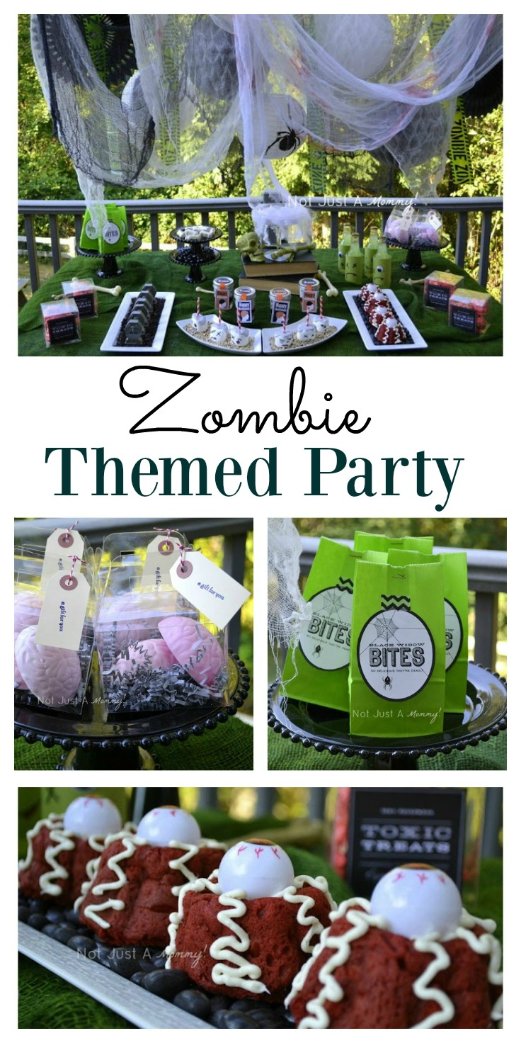 For fans of the Walking Dead. A zombie themed party could be ideal for you, especially for Halloween.With some ideas for food and decoration, the party organization could be easier than you think.