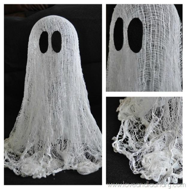 Floating Halloween Ghosts