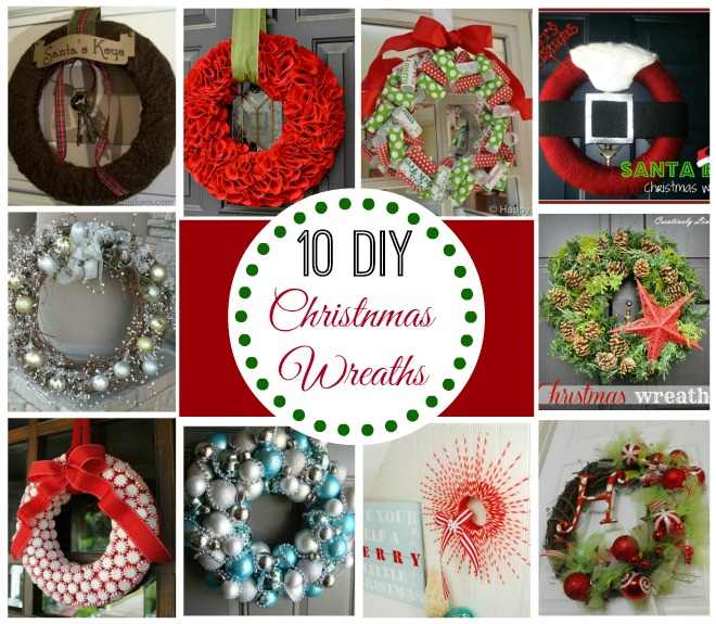 DIY Ideas For Christmas Wreaths
