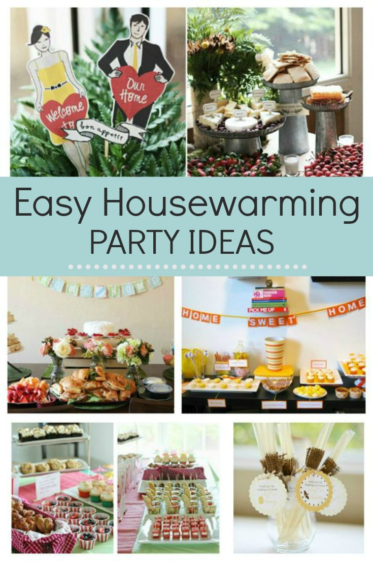 Easy housewarming party ideas that are suitable for Winter, Spring, Summer or Fall. Whether you are hosting a party on a budget or not, there are ideas here for lots of fun. From decoration to food ideas to ideas on what to take to a party, you will have home sweet home before you know it.