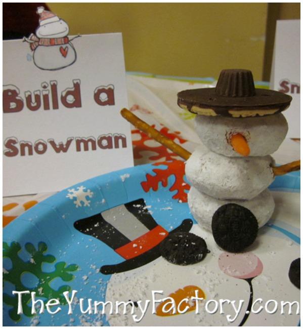 Snowman party ideas
