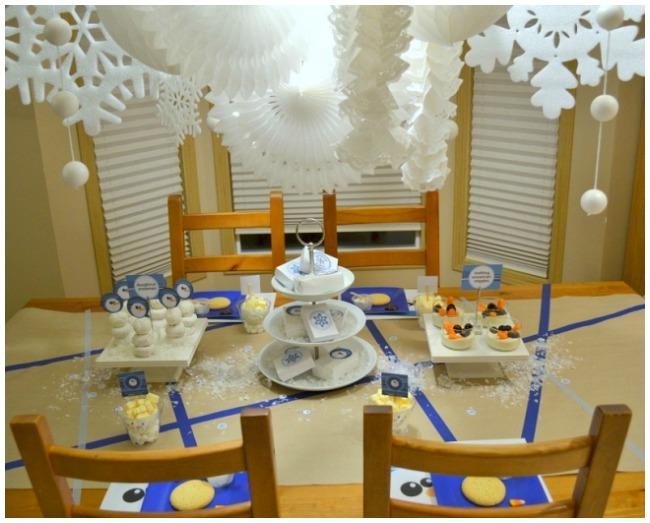 Budget snowman party ideas