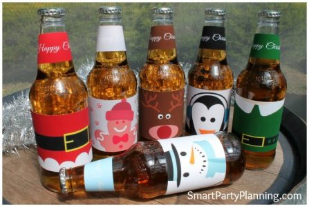 Christmas Beer Printables