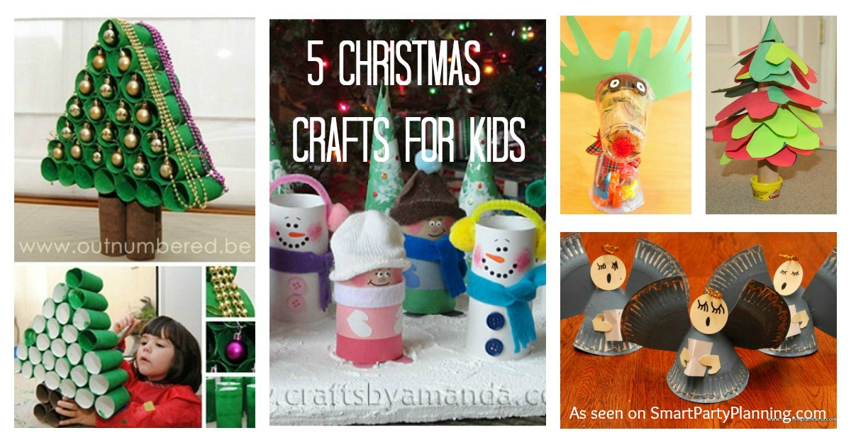 kids christmas party crafts