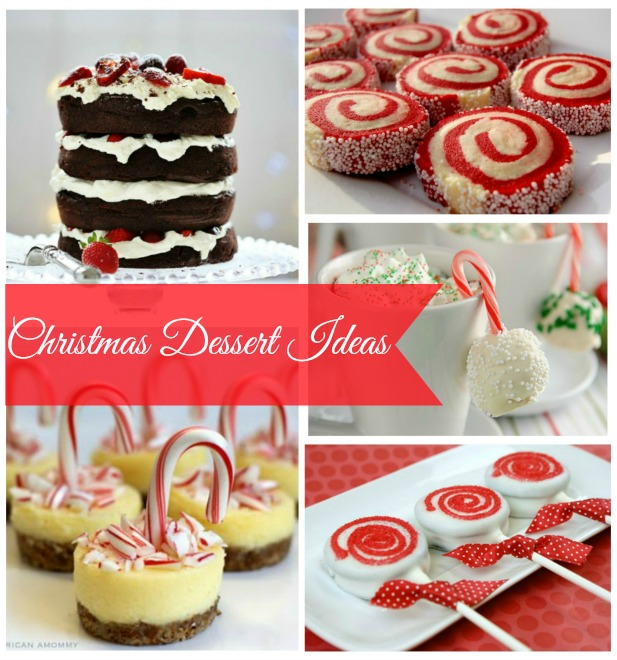 christmas dessert party ideas