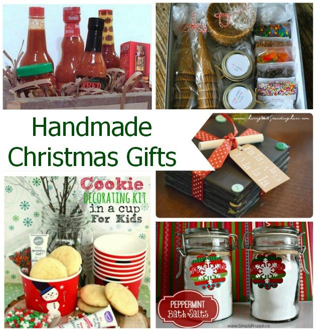 Handmade Christmas Gift Ideas: Handmade Christmas Gifts